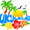 Ukulele Hawaiian Logo Design