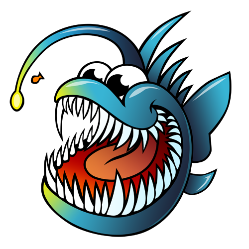 cartoon_anglerfish_by_claytonkashuba