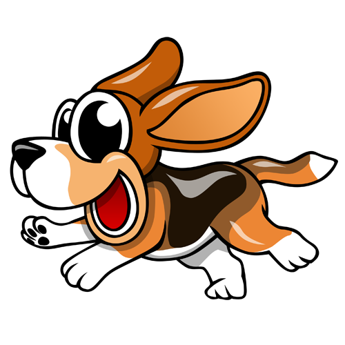 cartoon_beagle_by_claytonkashuba