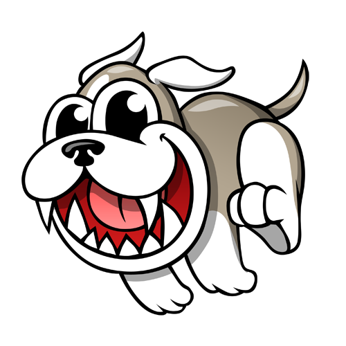 cartoon_bulldog_by_claytonkashuba
