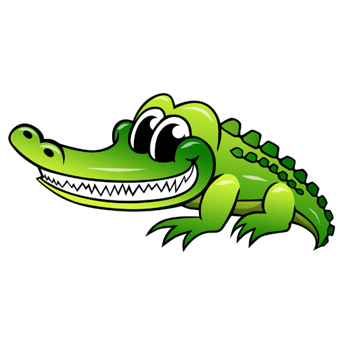 cartoon_crocodile_by_claytonkashuba