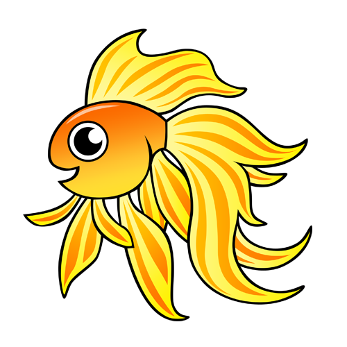cartoon_goldfish_by_claytonkashuba
