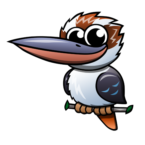 cartoon_kookaburra_by_claytonkashuba