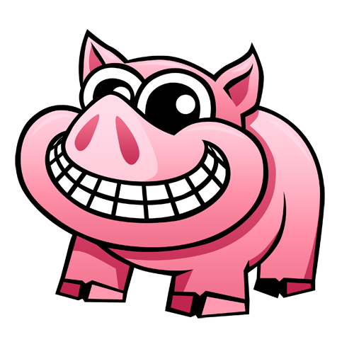 cartoon_pig_by_claytonkashuba