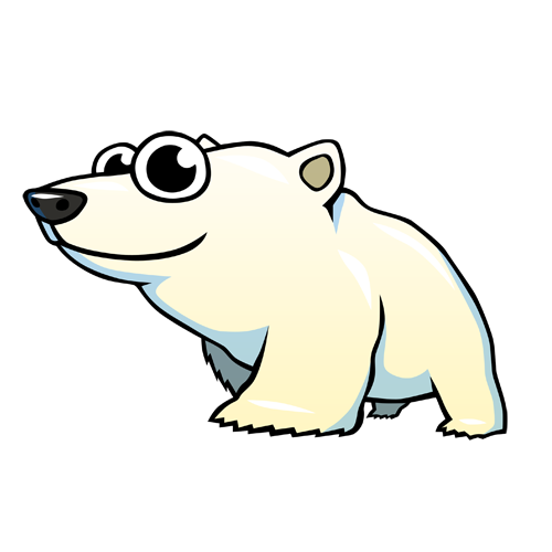 cartoon_polarbear_by_claytonkashuba