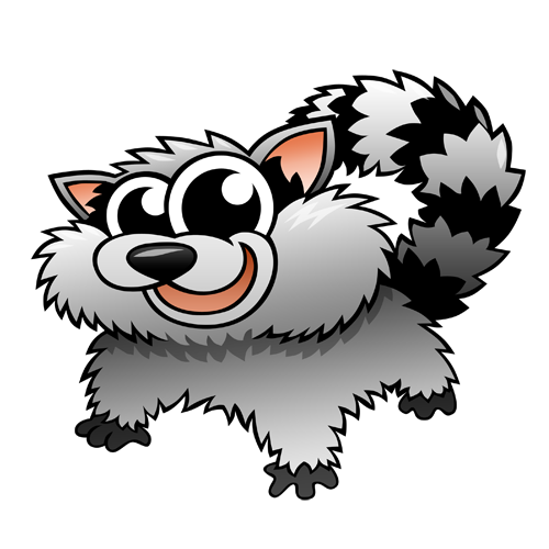 cartoon_raccoon_by_claytonkashuba