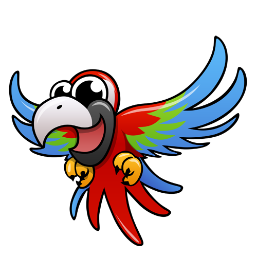 cartoon_scarletmacaw_by_claytonkashuba