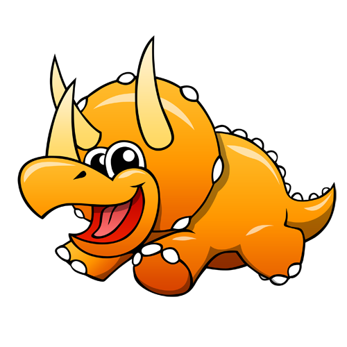 cartoon_triceratops_by_claytonkashuba